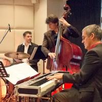 """Trio"" Kai Schönburg/Drums, Marc Müllbauer/Bass, Wolfgang Köhler/E-Piano"