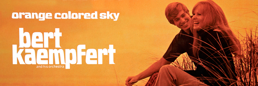 bert kaempfert album orange colored sky