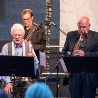 Ack van Rooyen (Trumpet), Bruno Müller (Guitar), Edgar Herzog (Saxophone)